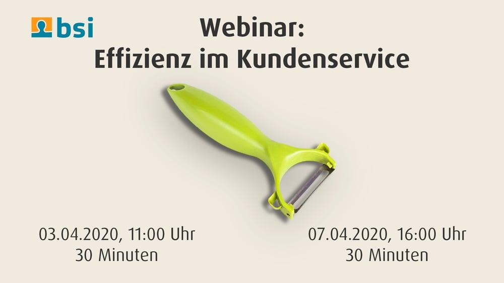 Effizien im Kundenservice_BSI-Webinar_cmm360
