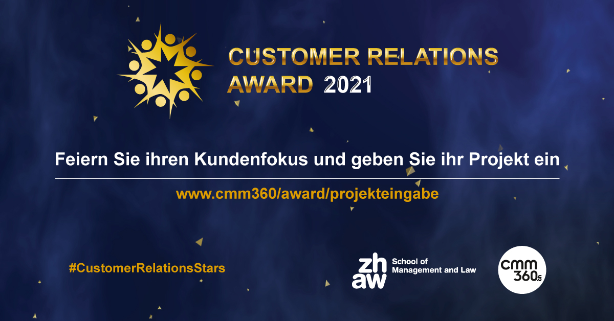 Projekteingabe_Customer Relations Award 2021_cmm360