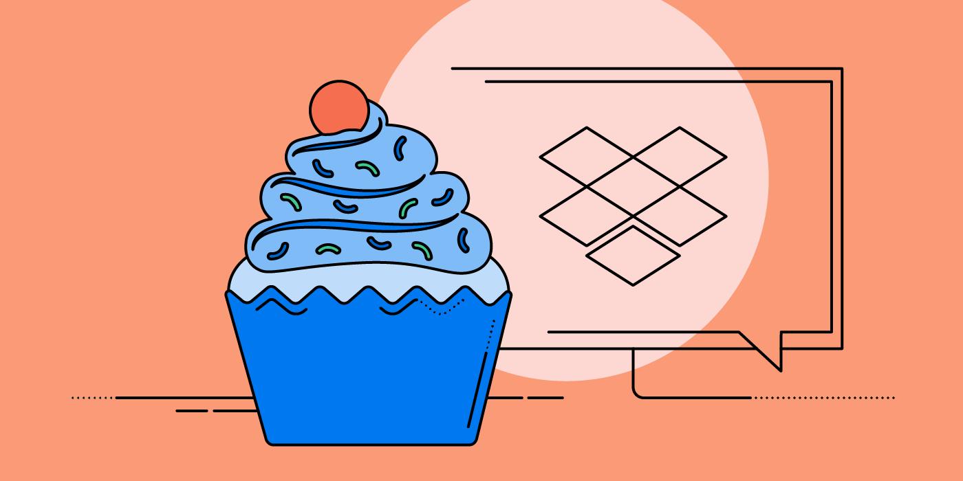 Dropbox Cupcake (c) Dropbox