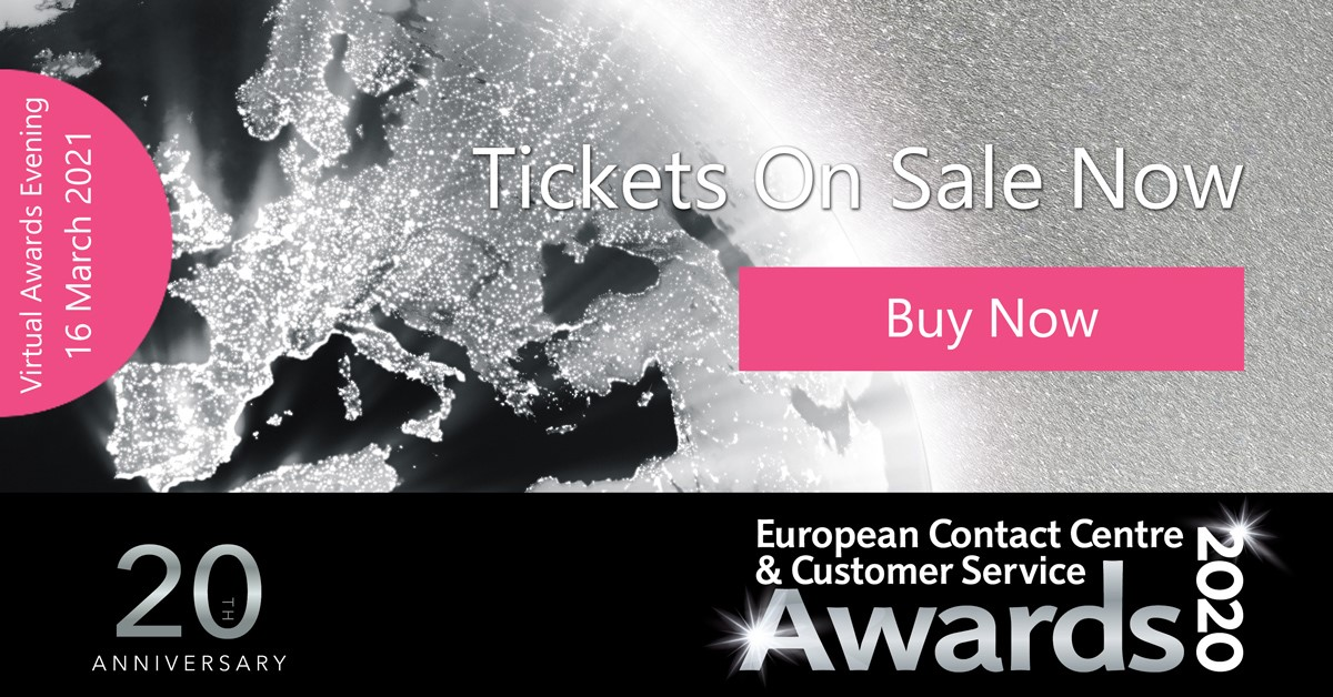 European Contact Centre and Customer Service Awards (ECCCSA) werden am 16. März 2021 bekannt gegeben.