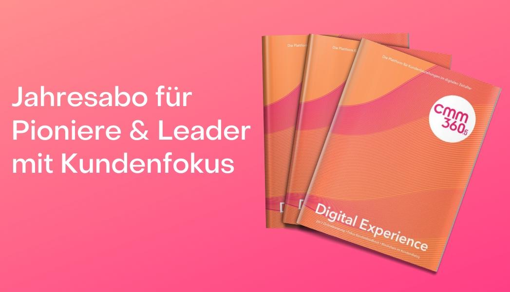 Kopie von Jahresabo für Pioniere & Leader mit Kundenfokus