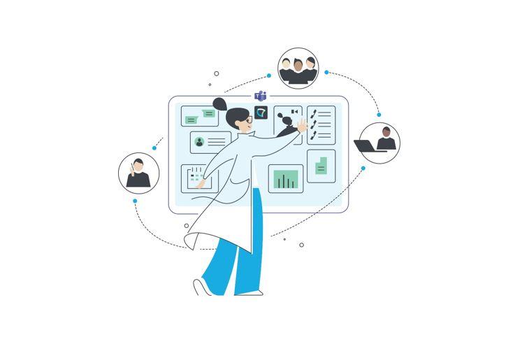 Microsoft Teams als Experience Hub für ein ganzheitliches Interaction Management_cmm360