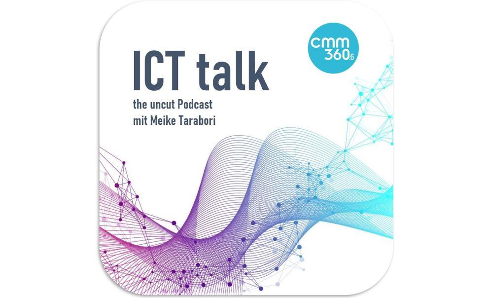 Die neue ICT Talk Episode 5 ist online_Stimmbiometrie mit Morna Florack_cmm360
