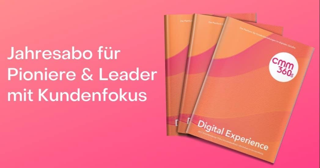 Kopie von Jahresabo für Pioniere & Leader mit Kundenfokus (1)