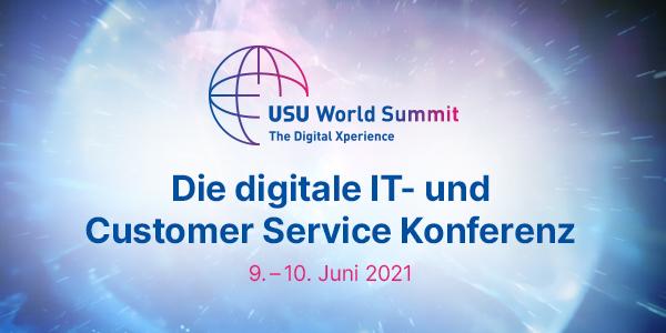 USU World Summit 2021 – die digitale Zukunft der IT wertschöpfend umsetzen_cmm360